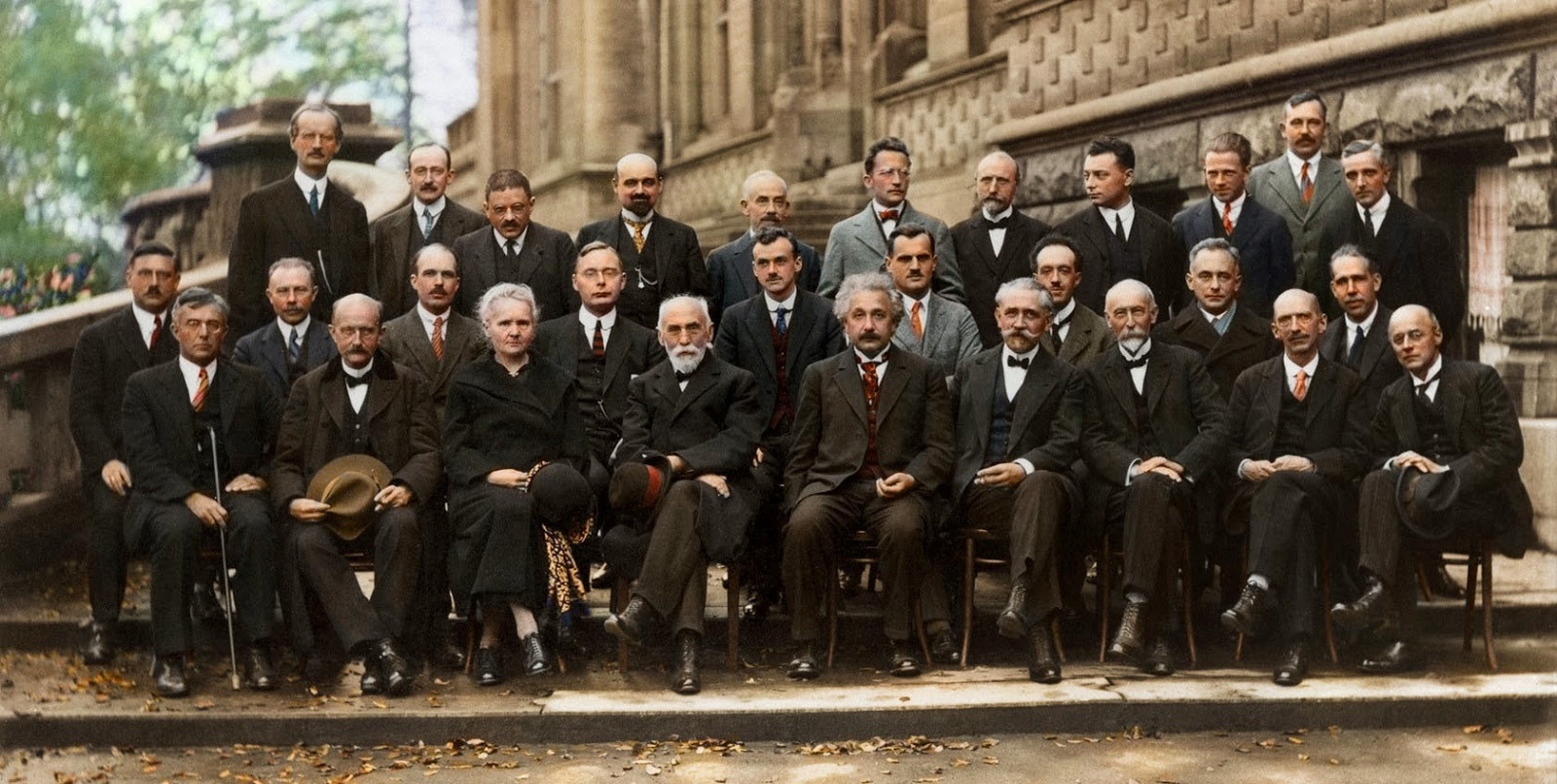 The Solvay Conference, Enstein and Marie Curie,1927
